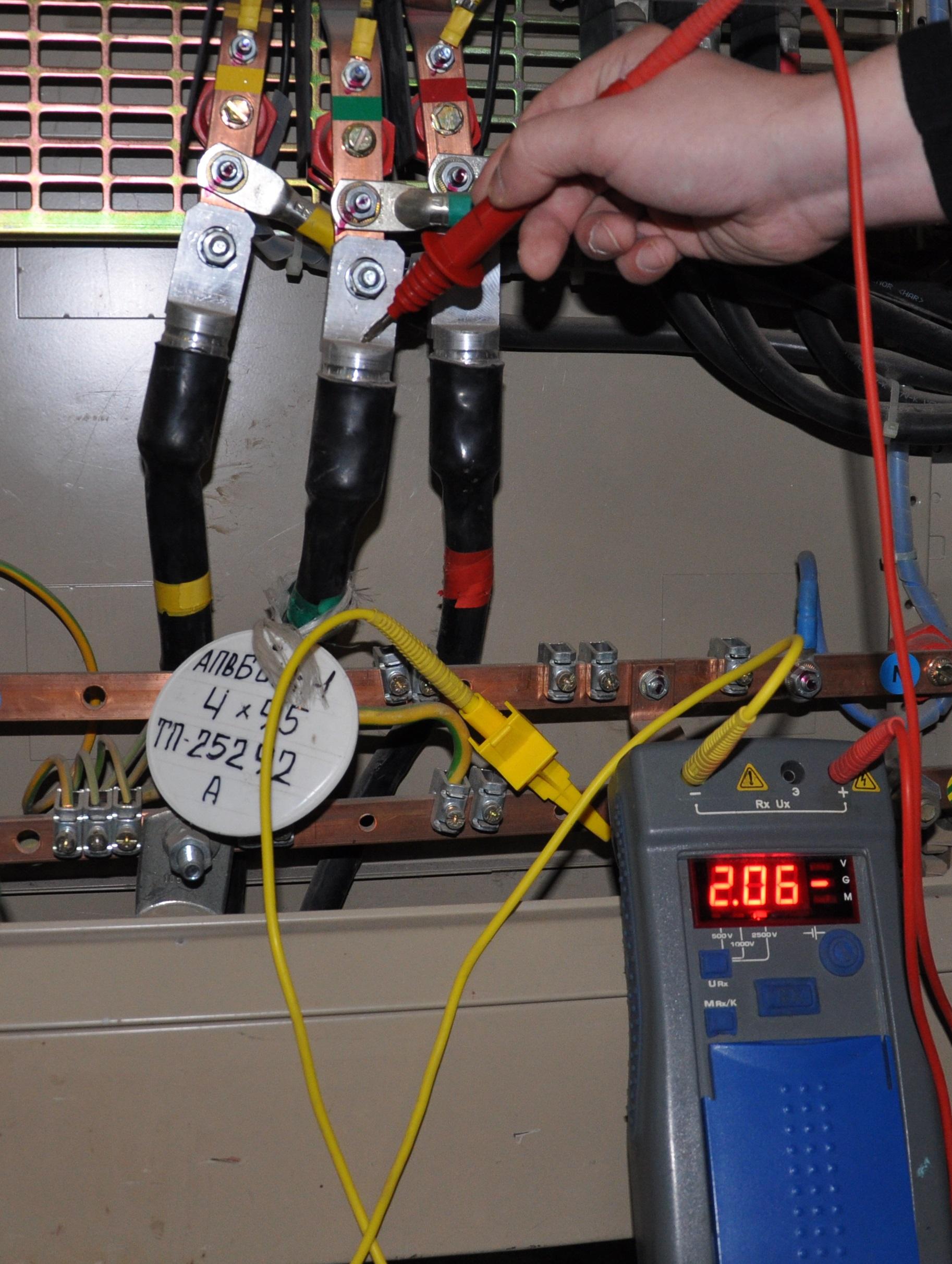 Как сделать замеры электрических